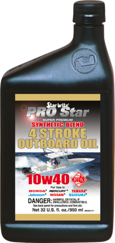 Super Premium Synthetisches 4-Takt Motoröl 10W40 950ml
